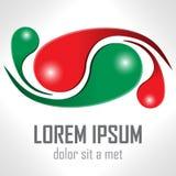 Шаблон логотипа вектора дизайна Стоковая Фотография