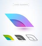 Шаблон логотипа сказа воздушных судн Стоковые Изображения