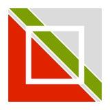 Шаблон логотипа с блокировать, разделенный квадрат Абстрактное geomet бесплатная иллюстрация