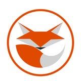 Шаблон логотипа Fox иллюстрация вектора