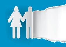 Шаблон оригинала приглашения свадьбы Стоковое Фото