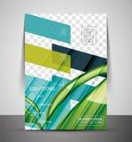 Шаблон печати рогульки природы корпоративный бесплатная иллюстрация