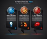 Шаблон плана Infographics срока для классификации деталя или идей Стоковые Изображения RF
