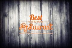 шаблон ресторана меню формы конструкции карточки длинний Стоковая Фотография