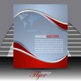 Шаблон рогульки дела или корпоративное знамя Стоковое Изображение RF