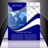 Шаблон рогульки дела или корпоративное знамя Стоковое Фото