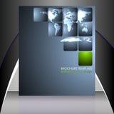 Шаблон рогульки дела или корпоративное знамя Стоковые Изображения RF
