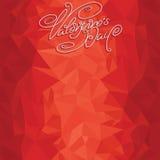 Шаблон фона валентинок Стоковая Фотография