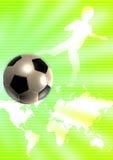 Шаблон футбола Стоковые Изображения