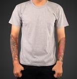 Шаблон футболки Стоковая Фотография RF