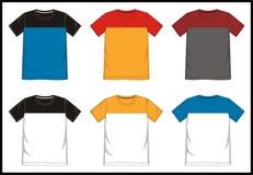 Шаблон 01 футболки Стоковое фото RF