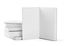 Шаблон чистого листа бумаги учебника тетради книги белый Стоковая Фотография RF