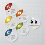 шаблон 5 шагов для вашего текста дизайна и образца выравнивает в форме треугольника шаблон 5 знамен представления шагов иллюстрация штока
