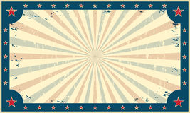 Шаблон для плаката или билета ярмарки цирка бесплатная иллюстрация