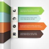 Шаблон Infographic Стоковое Изображение RF