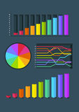 Шаблон Infographic Стоковые Фото