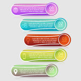 Шаблон infographics вектора Стоковые Изображения RF