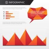 Шаблон Infographics Стоковые Изображения RF