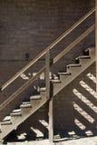 шагает деревянно стоковая фотография rf