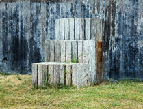 шагает деревянно стоковое фото rf