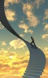Шагать вверх A1 Стоковое Изображение RF