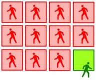 Шагать вне Стоковое Изображение RF