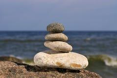 шагая камень Стоковые Изображения RF