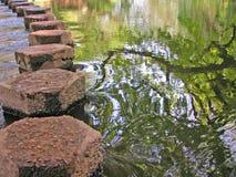 шагая камни Стоковое Изображение RF