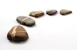 шагая камни Стоковая Фотография