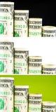 Шаги американского доллара склоняя Стоковые Фото