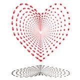 шаги влюбленности Стоковое Фото