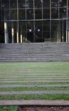 Шаги вне самомоднейшего здания Стоковая Фотография