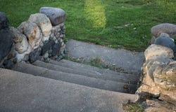 Шаги в парк Стоковое Фото