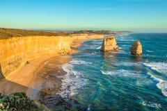 Шаги Гибсона и 12 апостолов, Австралия Стоковая Фотография