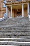 шаги здания суда Стоковое Изображение