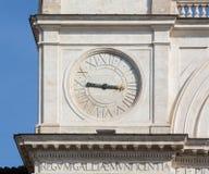 Шаги испанского языка церков Monti dei Trinita Стоковое фото RF
