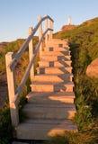 шаги маяка к Стоковое Фото