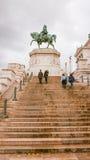 Шаги на национальный монумент Виктора Emmanuel в Риме Стоковые Изображения