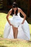 шаги невесты Стоковые Изображения RF
