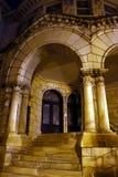 шаги ночи церков Стоковая Фотография RF
