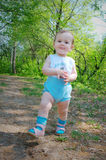 шаги природы s ребенка первые Стоковые Изображения