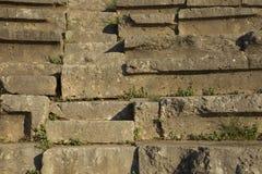 Шаги стародедовского амфитеатра Стоковые Изображения
