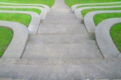 шаги ampitheater Стоковое Фото