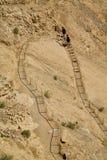 Шаги Masada Стоковое фото RF