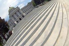 шаги PA harrisburg капитолия Стоковая Фотография