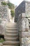 шаги picchu machu Стоковое Фото