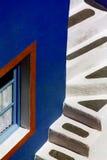 шаги santorini Стоковое Изображение
