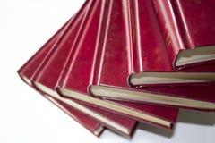 Шагнутые книги Стоковая Фотография