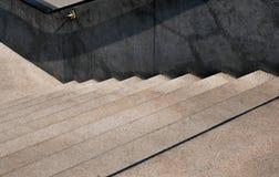10 шагов - вниз лестница Стоковые Фотографии RF