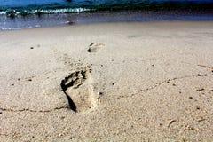 Шаг песка Стоковая Фотография